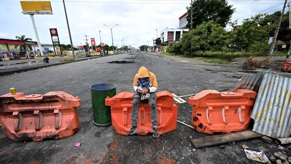 Colombia: líderes gremiales confirman saqueos de camiones de comida en los bloqueos