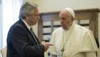 Los regalos entre el papa Francisco y Alberto Fernández