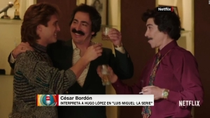 La química de Bordón y Boneta en la serie de Luis Miguel