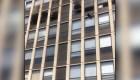 Gato se lanza del quinto piso de edificio en llamas