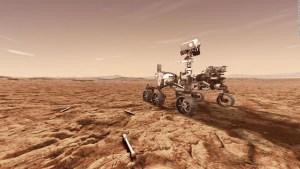 Mira la impactante imagen en alta definición en Marte