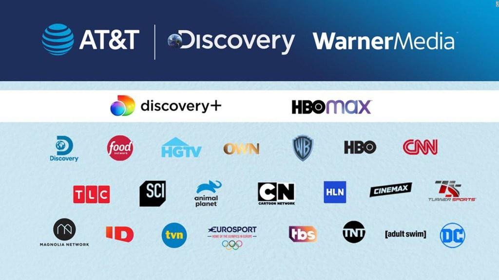 WarnerMedia y Discovery se fusionarán, anuncia AT&T