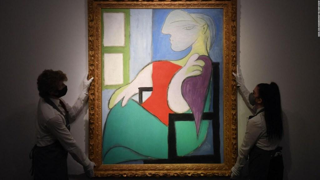 Pintura de Picasso supera los US$ 103,4 millones