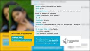 Jalisco busca a 4 desaparecidas que escaparon de albergue