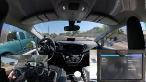 Falla durante viaje vehículo autónomo de Waymo