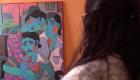 Artista uruguayo consuela con su obra a familias de desaparecidos
