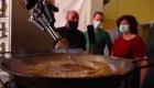Conoce al robot que cocina paella