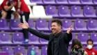 """Atlético: el """"Cholo"""" Simeone alabó a su grupo de jugadores"""
