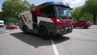 Este camión de bomberos es totalmente eléctrico
