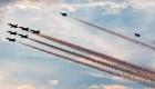 Los Navy Blue Angels despliegan su destreza en el cielo