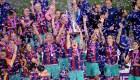 El Barça femenino se lleva triple corona