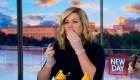 Mira a esta presentadora de CNN comer cigarras
