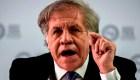 Almagro afirma que Nicaragua vive una dictadura