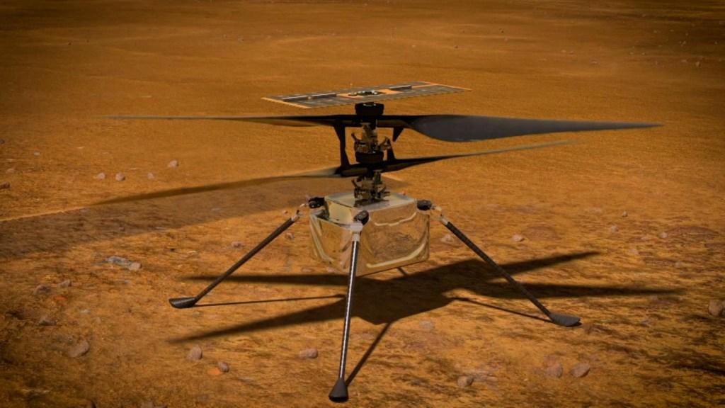 Ingenuity ya va por su séptimo vuelo en Marte
