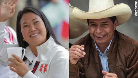 Termina el conteo en Perú: Castillo adelante