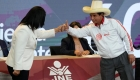Reacción de Fujimori y Castillo tras elecciones en Perú