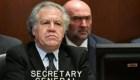 ¿Está en peligro la OEA? Almagro responde