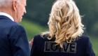 Jill Biden destaca con la moda mensaje de unidad