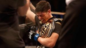 Lo que sintió Brandon Moreno cuando ganó este título del UFC