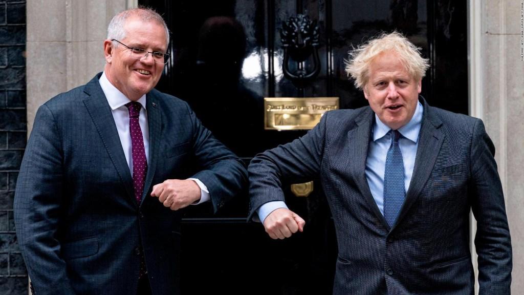 Australia y Reino Unido anuncian acuerdo comercial