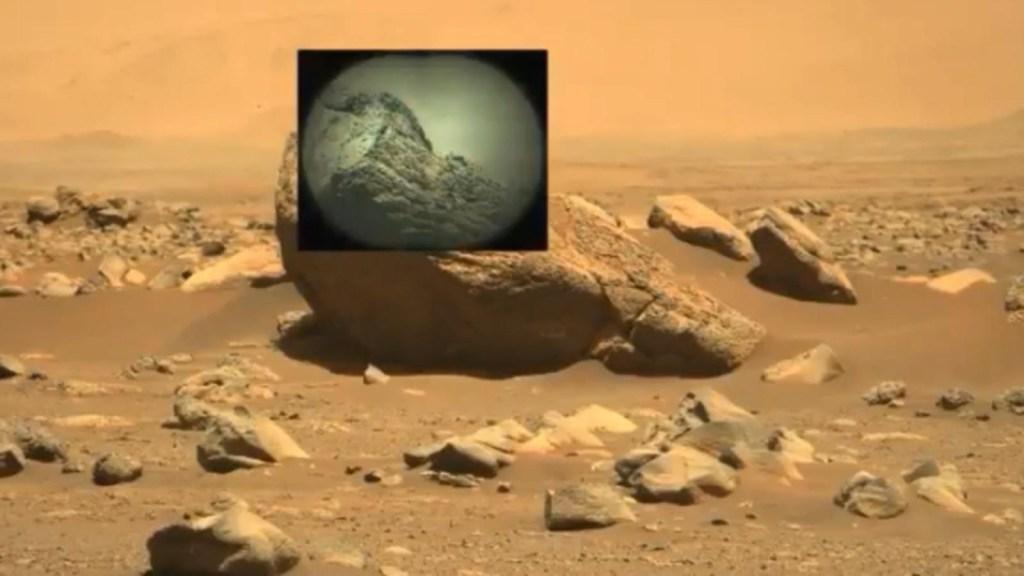 Así estudia el rover Perseverance las rocas de Marte