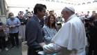 La inusual pregunta del papa Francisco a Egan Bernal