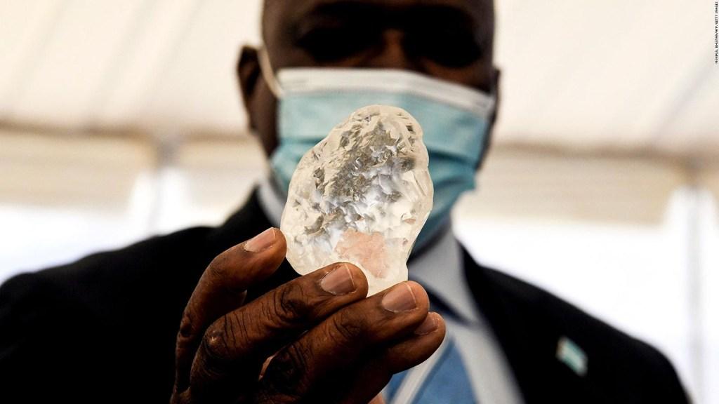 Este enorme diamante está entre los más grande del mundo