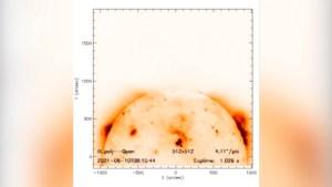 La NASA presenta versión inédita de un eclipse solar