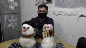 """""""Tito"""", el muñeco de nieve que han conservado por 14 años"""