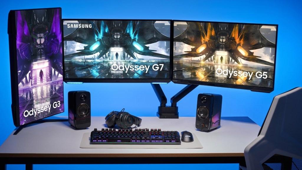 Samsung anuncia sus nuevas pantallas futuristas