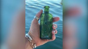 Encuentran en Michigan un mensaje de 1926 en una botella
