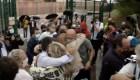 Liberan a 9 líderes independentistas de Cataluña