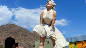 Controversia por estatua de Marilyn Monroe