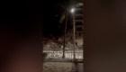 Dramáticos videos tomados antes y después del colapso