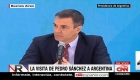 Pedro Sánchez y Alberto Fernández se reúnen: ¿qué temas trataron?