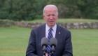 Biden dice que el plan de vacunación ayuda a la economía