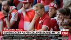 Christian Eriksen, estabilizado tras colapsar en un partido de la Euro 2020
