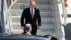 Vladimir Putin aterriza en Ginebra para su encuentro con Joe Biden