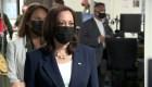 Kamala Harris llega a la frontera entre EE.UU. y México