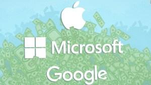 Estas empresas tecnológicas reportan ganancias récord
