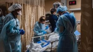 """Hospitalizaciones por covid-19, una """"herida autoinfligida"""""""