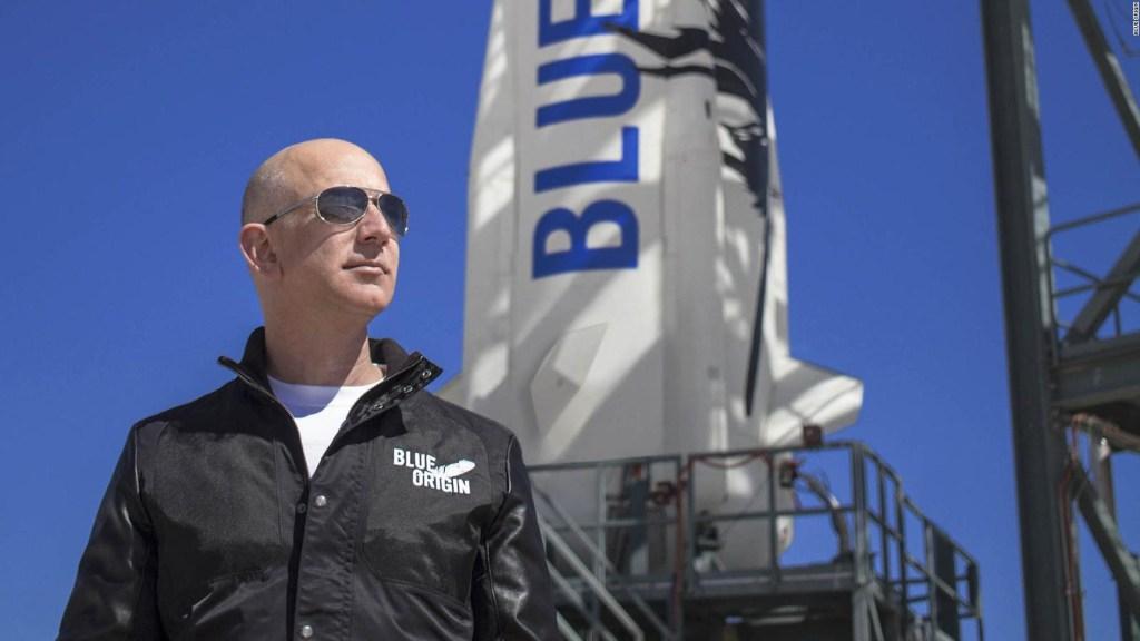 Jeff Bezos irá al espacio, conoce todos los detalles