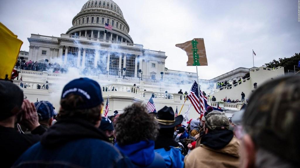 Muestran un nuevo video de insurrección en el Capitolio