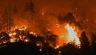 Condado de California en alerta por incendios