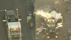 17 heridos tras explosión en un camión de policia