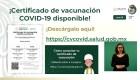¿Qué incluirá el certificado de vacunación de México?