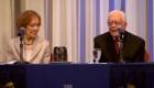 Jimmy y Rosalynn Carter celebran su 75 aniversario de boda