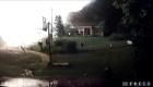 Enorme explosión de una casa grabada en video