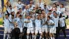 Así reaccionan los argentinos tras ganar la Copa América