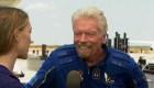 ¿Qué dijo Branson tras su viaje al espacio?